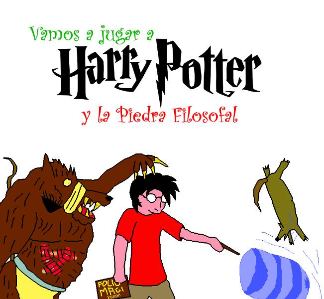 Vamos A Jugar A Harry Potter Y La Piedra Filosofal Rpg
